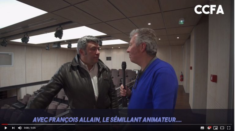 INTERVIEW DE FRANCOIS ALLAIN
