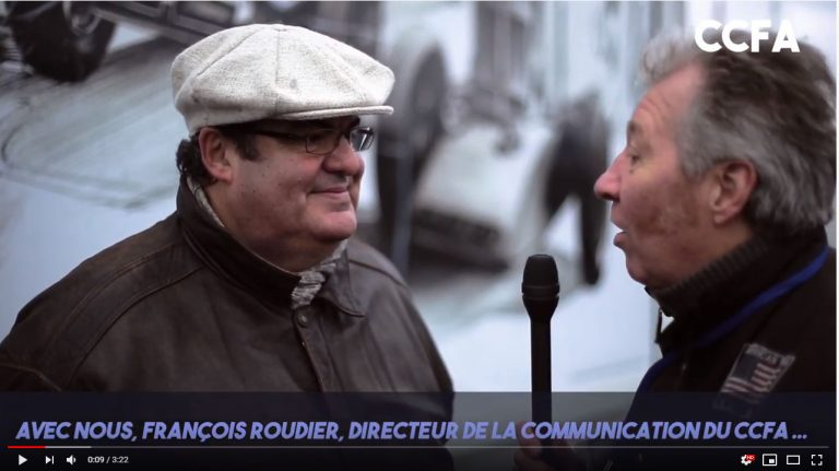 INTERVIEW DE FRANCOIS ROUDIER
