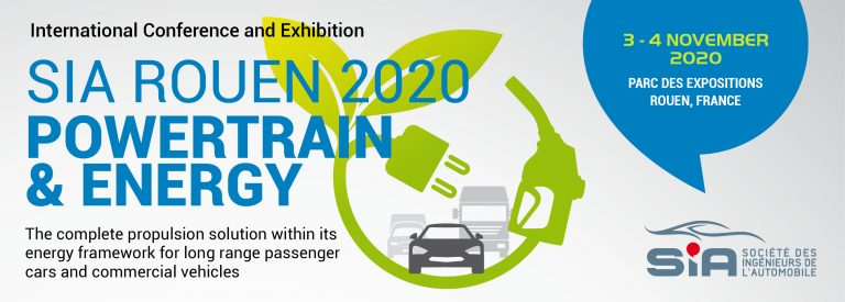 SIA Powertrain & Energy Rouen – 3 & 4 novembre 2020