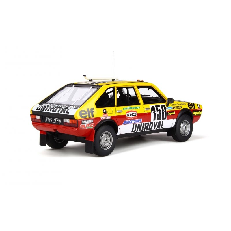 La Renault 20 Turbo 4×4, star du Paris-Dakar 1982